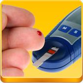 Finger Blood Sugar Test Prank icon