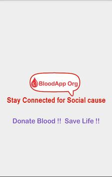 BloodApp Org poster