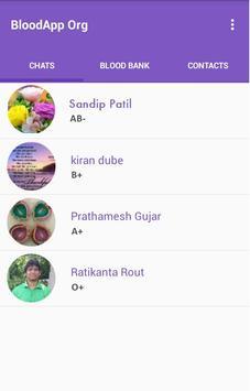 BloodApp Org screenshot 1