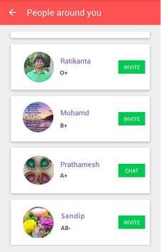 BloodApp Org screenshot 5