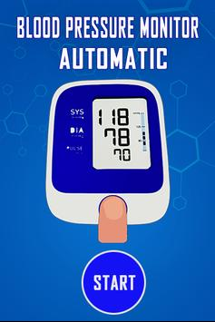 Blood Pressure Monitor Automatic - Prank poster