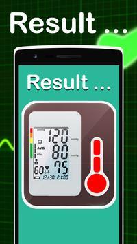 Blood Sugar test Fingerprint-Prank screenshot 2