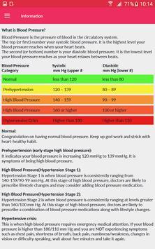 Blood Pressure Monitor apk screenshot