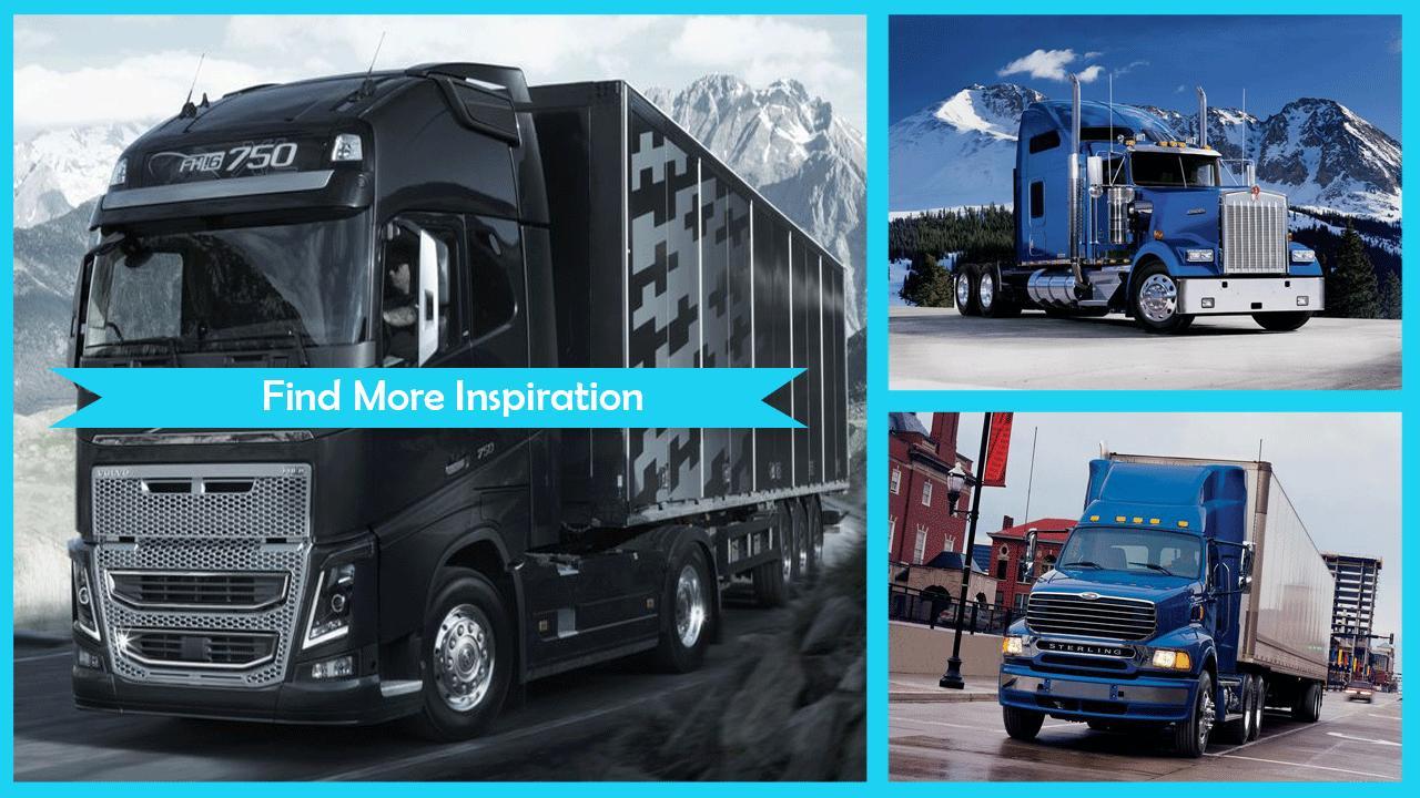 Big Trucks Live Wallpaper poster