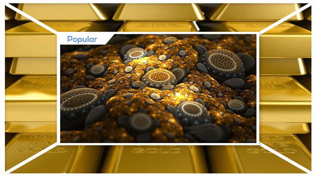 Gold Live Wallpapers apk screenshot