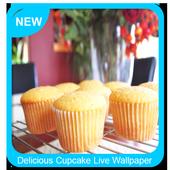 Delicious Cupcake Live Wallpaper icon