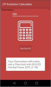 CP Calculator Evolution apk screenshot