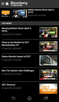 Bloomberg TV Malaysia screenshot 1