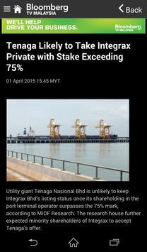 Bloomberg TV Malaysia screenshot 2