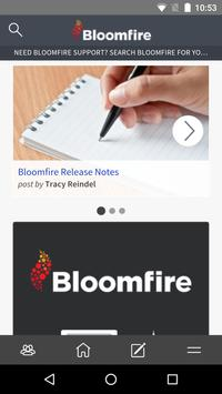 Bloomfire screenshot 2