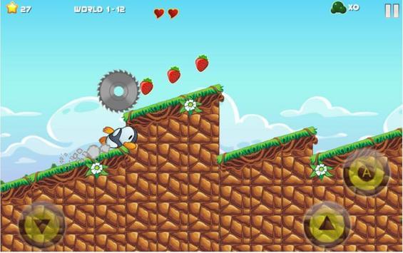Crazy Penguin Adventure - Games Free 2018 apk screenshot