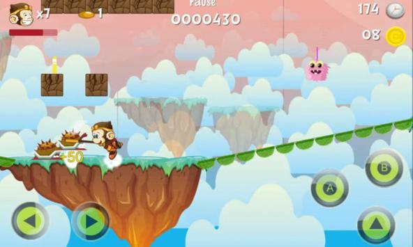 Monkey Kong Battle Hunter free games apk screenshot