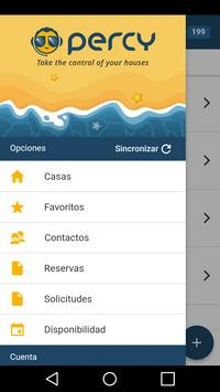Percy, The Mobile Tour Operator Service App screenshot 1