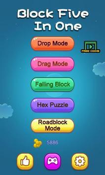 Puzzle - Block Five In One screenshot 5