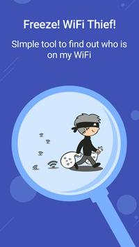 Block WiFi Freeloader - Detect Who Use My WiFi? poster