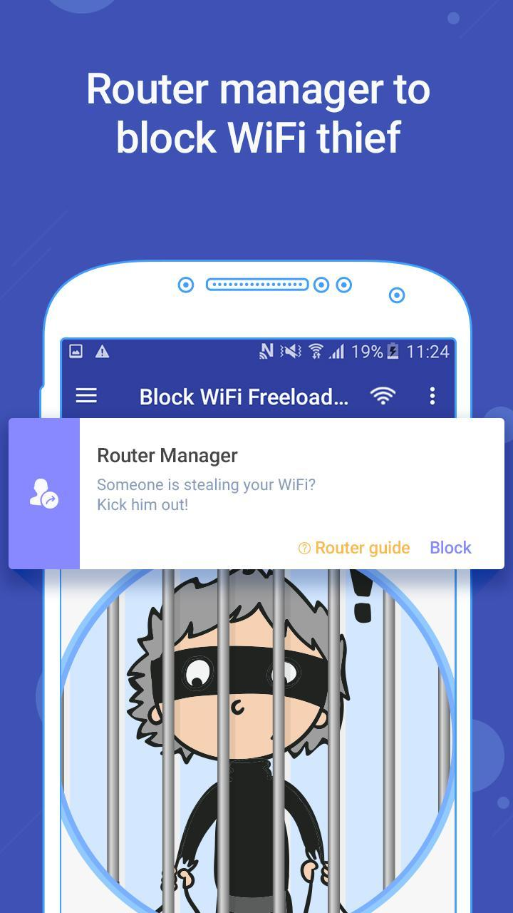 Block WiFi Freeloader for Android - APK Download
