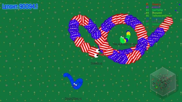 Snakes.io apk screenshot