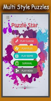 Puzzle Star: Latest Block, Hexa Puzzle game 2018 poster
