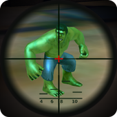 Download Game android Superhero vs Monster Assassin - best sniper game APK latest