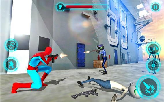 Superhero vs Stickman Navy Battle screenshot 5