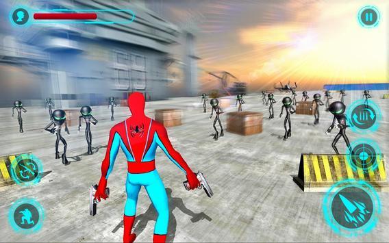 Superhero vs Stickman Navy Battle screenshot 6