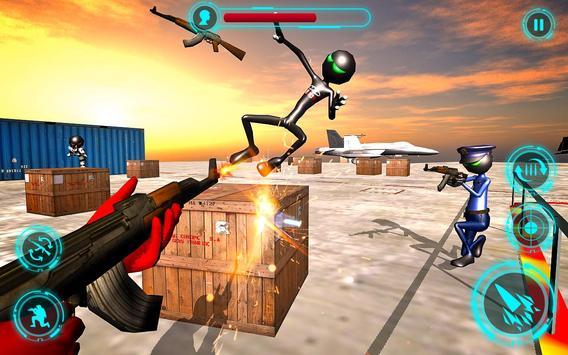 Superhero vs Stickman Navy Battle screenshot 9