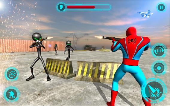 Superhero vs Stickman Navy Battle screenshot 13