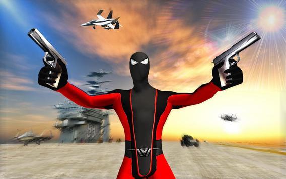 Superhero vs Stickman Navy Battle screenshot 1