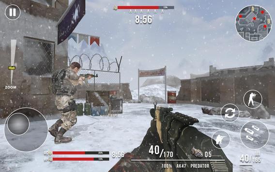 Rules of Modern World War Winter FPS Shooting Game screenshot 3