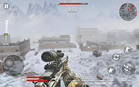 Rules of Modern World War Winter FPS Shooting Game screenshot 1