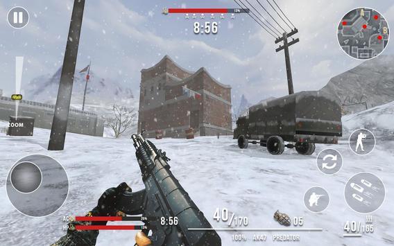 Rules of Modern World War Winter FPS Shooting Game screenshot 2