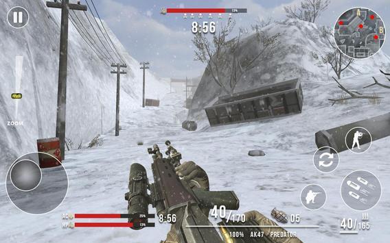 Rules of Modern World War Winter FPS Shooting Game screenshot 4