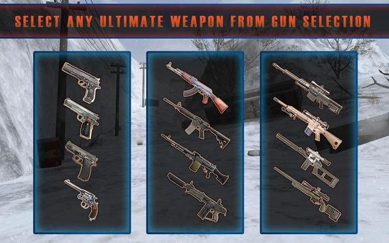 Rules of Modern World War Winter FPS Shooting Game screenshot 5