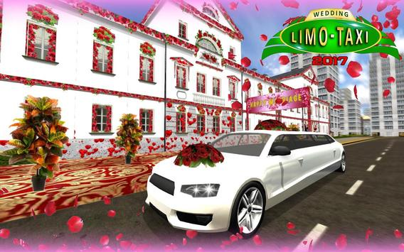 Wedding Limo Taxi Driver Fun poster