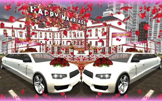 Wedding Limo Taxi Driver Fun screenshot 12
