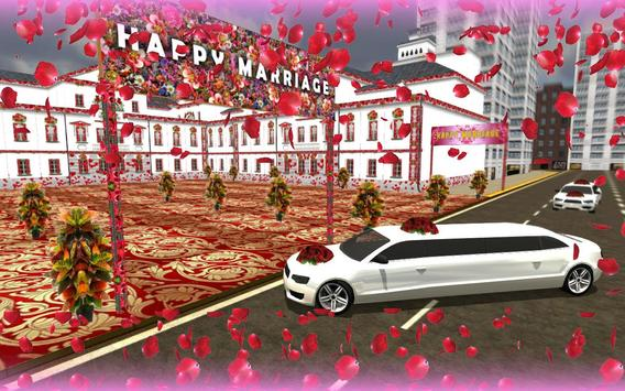 Wedding Limo Taxi Driver Fun screenshot 1