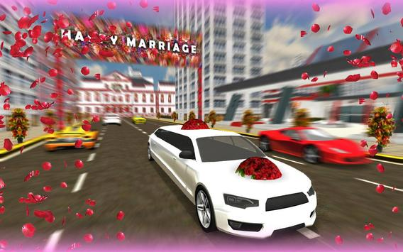 Wedding Limo Taxi Driver Fun screenshot 4