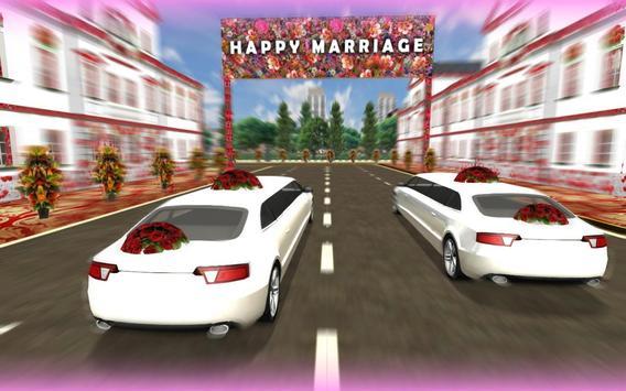 Wedding Limo Taxi Driver Fun screenshot 8