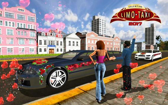 Valentine Hero Limo Taxi 2017 apk screenshot