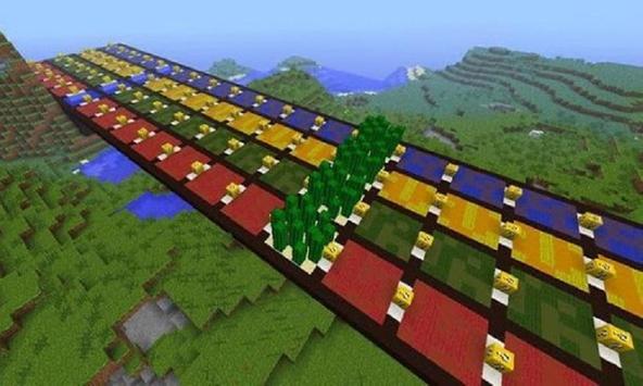 Lucky Block Race for MCPE(Addon) screenshot 1