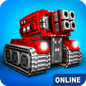 Blocky Cars Online متعة مطلق أيقونة