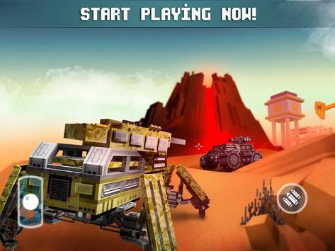 Blocky Cars Online متعة مطلق apk تصوير الشاشة