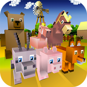 Blocky Animals Simulator icon