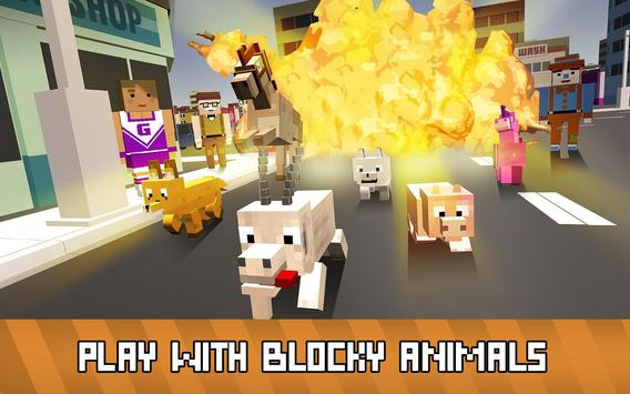 Blocky Animals Simulator poster