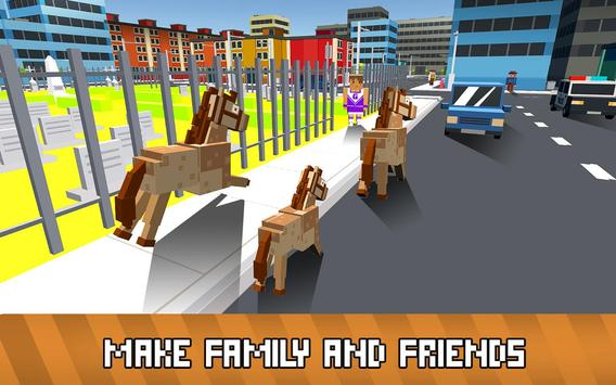 Blocky Animals Simulator screenshot 2