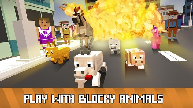 Blocky Animals Simulator screenshot 8