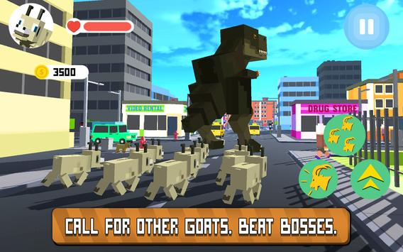 Blocky City Goat apk screenshot