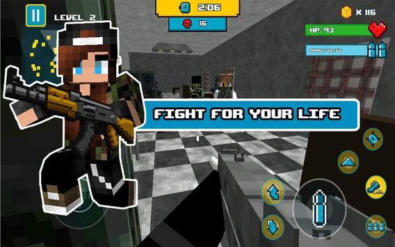 Block Death Squad FPS screenshot 13
