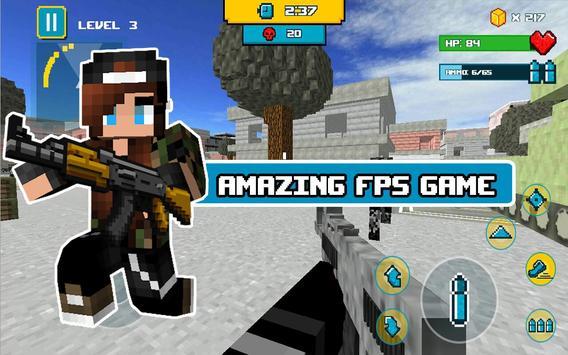 Block Death Squad FPS screenshot 1