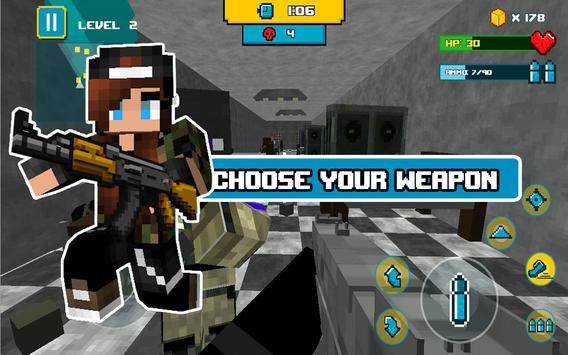 Block Death Squad FPS screenshot 2